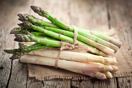 Szparagi – źródło zdrowia!