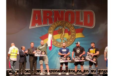 Mateusz Kieliszkowski Wygrywa Arnold Classic Europe