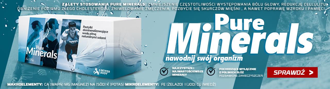 pure minerals
